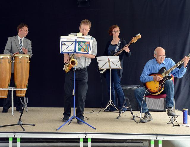 Premiere für die GEA-Combo: Wann kommt die CD? Foto: Markus Niethammer