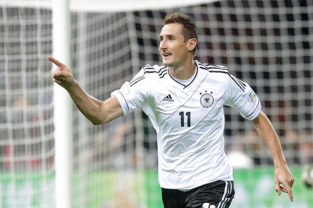 Stürmer Miroslav Klose. Foto: Michael Kappeler/dpa