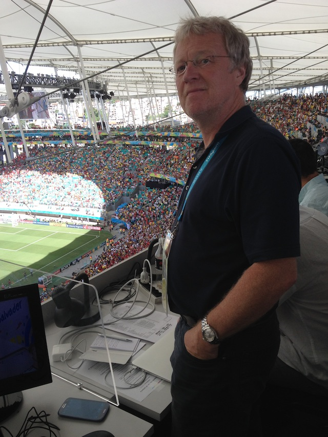 Ehrlich, die Stadien in Brasilien sind schön, meint unser Sportchef Christoph Fischer. Foto: pr