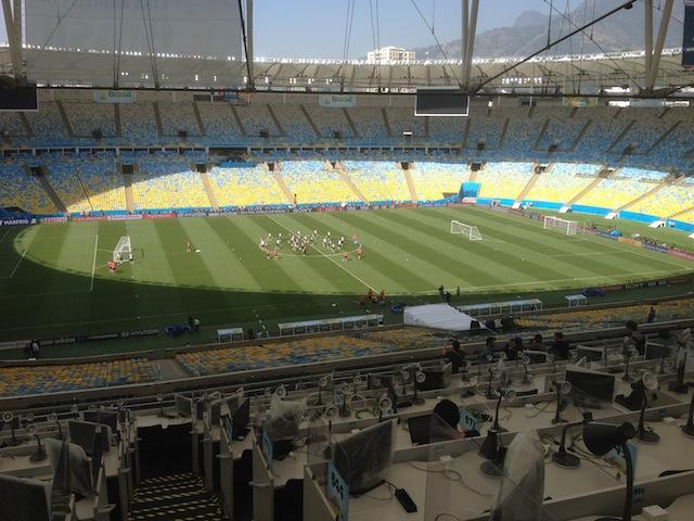 Das neue Maracaná Stadion. Foto: Christoph Fischer