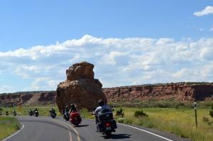 Großartige Landschaft entlang der Rout 66. Foto: co