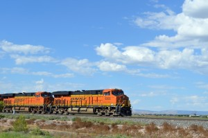 Das sind Lokomotiven! Foto: co