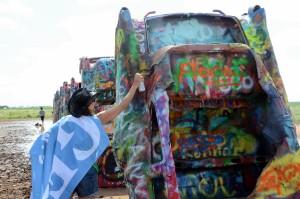 Sprayen verboten, und alle tun es... Foto: co