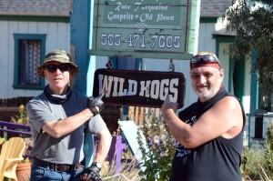 """Wilde Typen: In Madrid spielte """"Wild Hogs"""", im Deutschen hieß der Film """"Born to be wild, saumäßig drauf"""". Foto: co"""