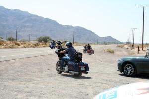 Hit the Road Jack: Auf der alten Route 66 geht es durch die Mojave-Wüste. Foto: Jonas König
