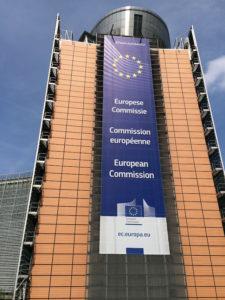 Das Kommissionsgebäude Charlemagne in Brüssel.