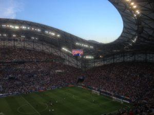 Stade Vélodrome von Marseille.