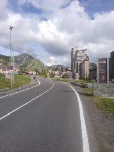 Etappenziel Avoriaz.